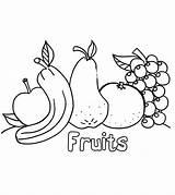 Apple Coloring Pages Fruits Vegetables Little Ones Momjunction sketch template