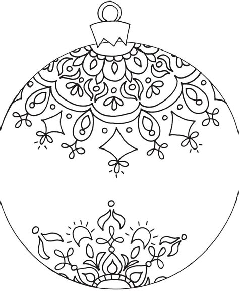 google printable christmas adult ornaments free printable coloring pages for adults to color coloring pages