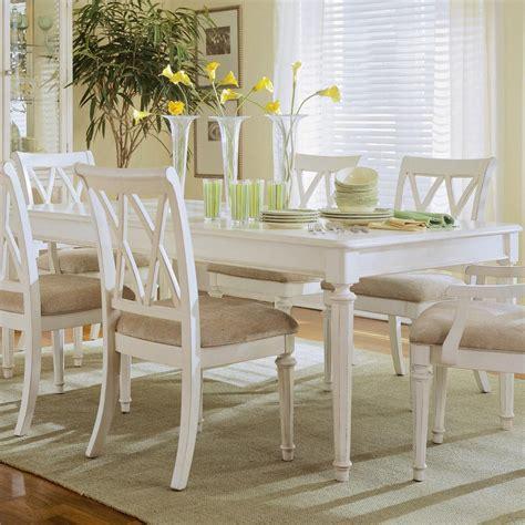American Drew Camden  Light Rectangular Leg Table
