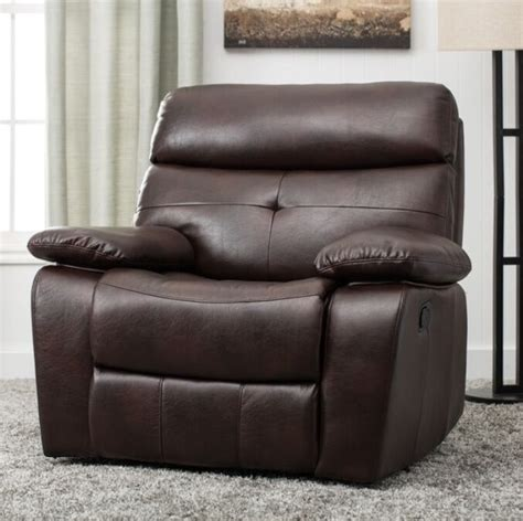 Lazy Boy Armchair by Large Brown Arm Chair Recliner Recliners Lazy Armchairs