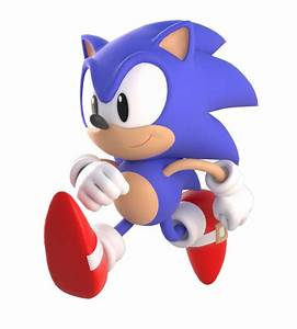 Classic Sonic Running by Unsubjective on DeviantArt