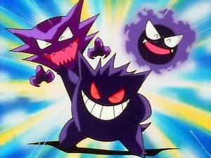 Gastly, Haunter, and Gengar images Ghostly Trio HD ...