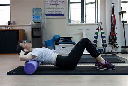 Foam Roller Thoracic Spine Mobility Glutes Exercises