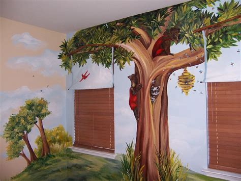 Kinderzimmer Wandgestaltung Wald by Forest Mural I Would Like To In My Kid S Room All I