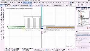 archicad 16 basics 31 tut balkon aus profilwand mit With markise balkon mit tapeten