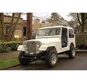 OLD PARKED CARS 1984 Jeep CJ7