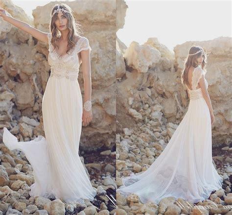 Bohemian Beach Wedding Dress Naf Dresses