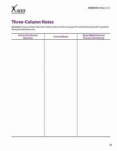tutor training part 2 powerpointpptx on emaze With 3 column notes template