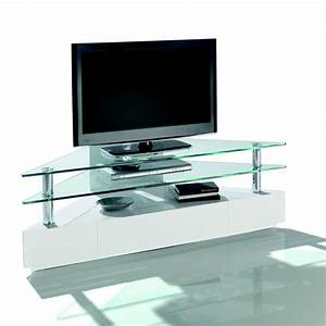 Meuble D Angle Moderne : meuble tv d 39 angle blu ray meubles bouchiquet ~ Teatrodelosmanantiales.com Idées de Décoration