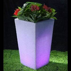 Pot Fleur Lumineux : pot de fleurs lumineux 70 x 40 cm sur grossiste chinois import ~ Nature-et-papiers.com Idées de Décoration