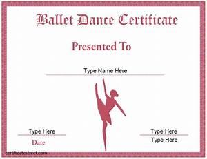 Certificate street free award certificate templates no for Dance certificate templates free download
