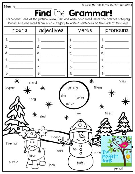 worksheet language conventions worksheets