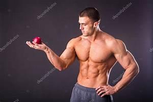 Image Homme Musclé : pomme m re de holding homme muscl photographie aallm 62528045 ~ Medecine-chirurgie-esthetiques.com Avis de Voitures