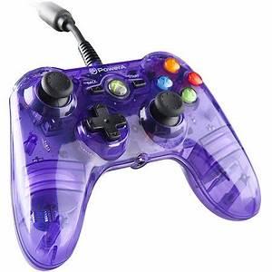 PowerA 360 Mini Pro EX Wired Controller Purple Xbox 360