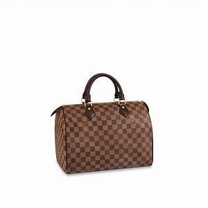 Louis Vuitton Damen Handtaschen : speedy 30 damier ebene canvas handtaschen louis vuitton ~ Frokenaadalensverden.com Haus und Dekorationen