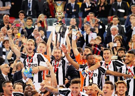 PHOTOS: Juventus win Italian Cup, complete double - Rediff ...