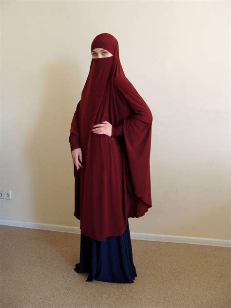 transformator burgund khimar niqab burka granet niqab