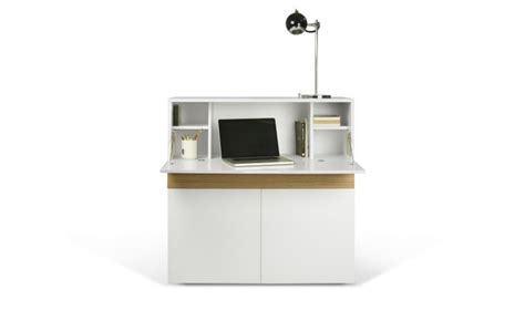 secretaire moderne bureau meuble secretaire design blanc fabriqu en europe focus
