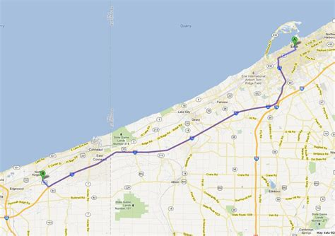 Directions from Erie to Chrysler Dodge Jeep Dealership