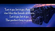 Let it go (Frozen) - Male Version Lyrics and Instrumental ...