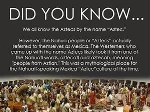 The Aztecs were actually called Mexica - HeritageDaily ...