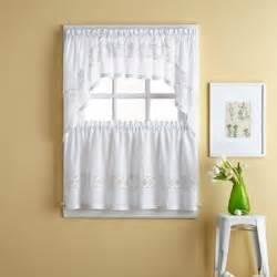 kendra window curtain tier pair bed bath beyond