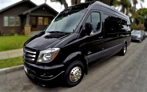 Large Limo by 10 14 Passenger Mercedes Sprinter Limo Service