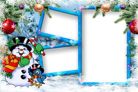 christmas photo frames templates  decor