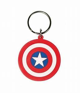 Marvel (Captain America Shield) Keychain: Buy Marvel