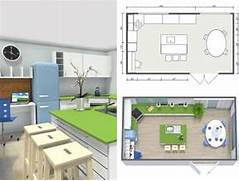 Easy Kitchen Design Planner Image Design And Floor Plans Created Using RoomSketcher Home Designer
