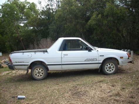 subaru ute 1989 used subaru brumby e81 4 wd ute car sales bermagui