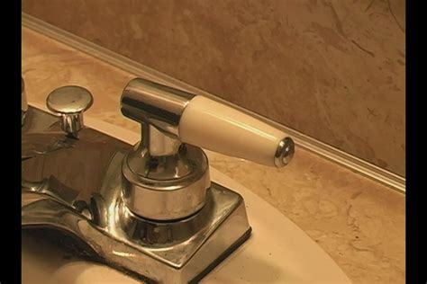 how to tighten bathroom sink faucet how to stop a faucet from turning off too far ehow