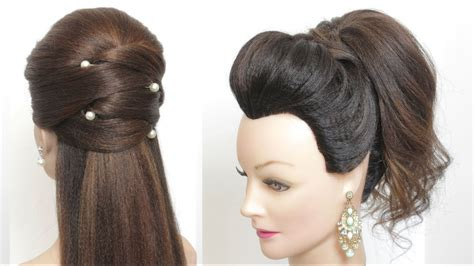 2 fast and straightforward hairstyles for lengthy medium