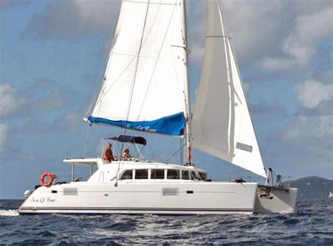 Yacht Love By Chance by Sea Of Love Crewed Catamaran Charter British Virgin