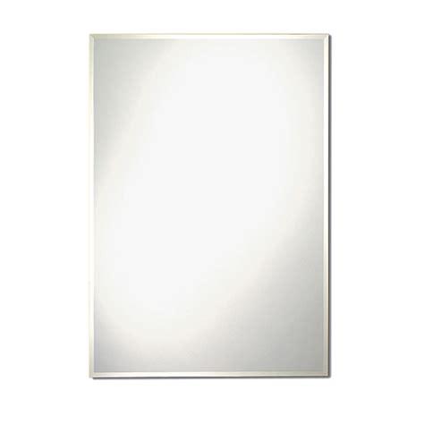 mirror contemporary bevelled mirror rona
