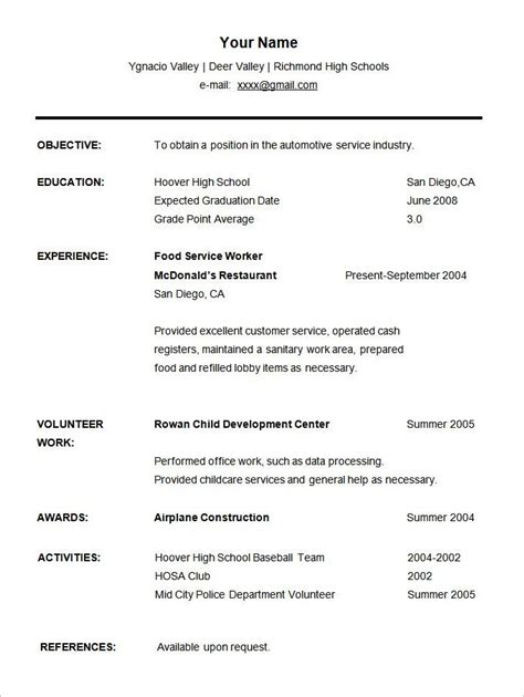 Student Cv by Image Result For Free Student Cv Template Word Matthew S