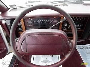 1994 Buick Century Special Sedan Red Steering Wheel Photo