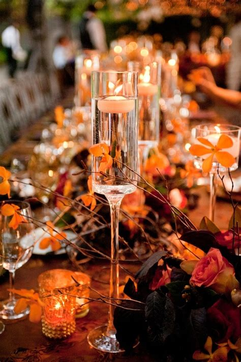fall wedding table decor autumn wedding we do dream weddings