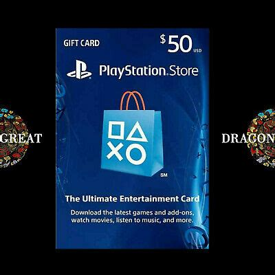 It comes with the simple instructions in the email so you can't miss. $50 PSN Digital Card - Playstation Network $50 USD PS4 PS3 ...