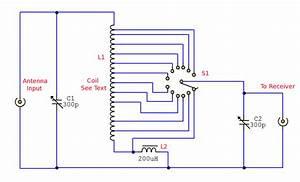 Antenna Tuning Unit - Signal Processing - Circuit Diagram