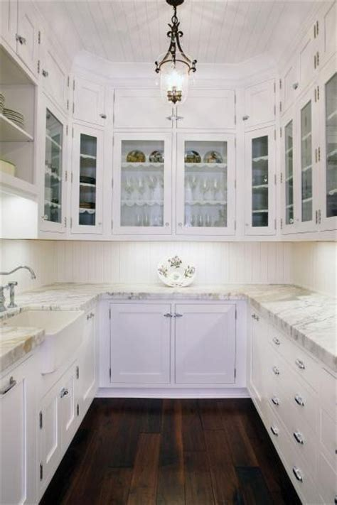 A walk in pantry designed for use as a working pantry