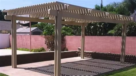 aluminum pergola covers by patio warehouse in orange
