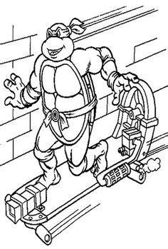 donatello teenage mutant ninja turtles coloring pages