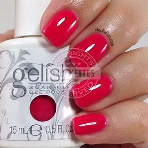 Gelish Hello Pretty Summer 2015 Collection Swatches With
