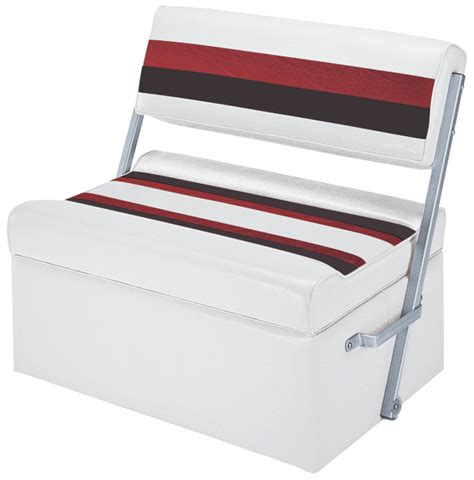 Flip Flop Boat Seat by Wise Deluxe Pontoon Flip Flop Seats Iboats
