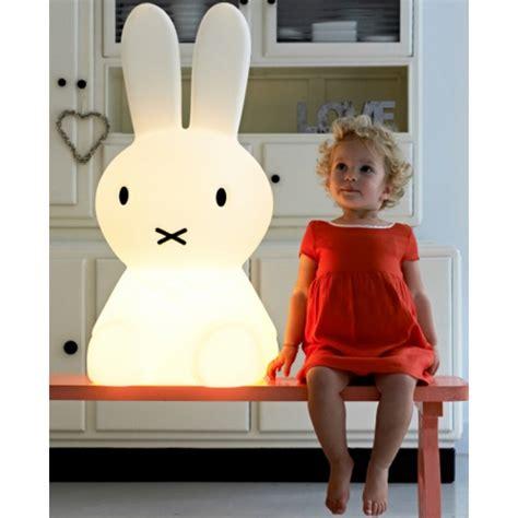 mr miffy xl gross 80cm hasen leuchte anel rabbit l nijntje mr led mit dimmer