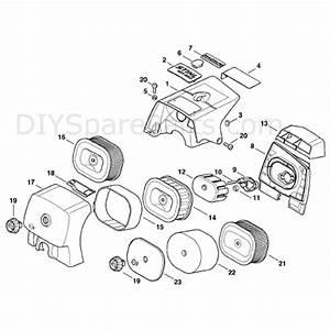Stihl Ms 660 Chainsaw  Ms660  Parts Diagram  Shroud