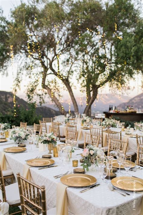 wedding table decorations for outside 30 outdoor vineyard wedding ideas vineyard wedding wedding tables and gold