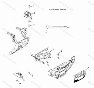 Polaris Atv 2005 Oem Parts Diagram For Winch A05mh50at