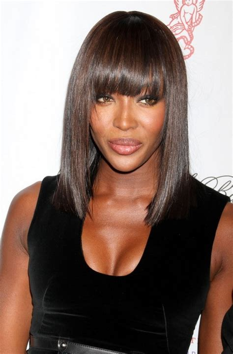 black hairstyles  oval faces